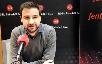 Pol Gibert valora govern de Pedro Sánchez/ Arxiu Ràdio Sabadell
