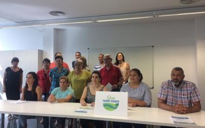 Presentació del Pla d'Intervenció que ha comptat amb la presència de veïns i veïnes implicats en el projecte | Helena Molist