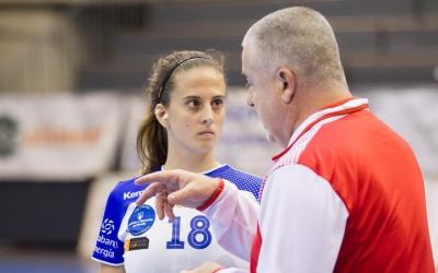 Mireia Torras espera guanyar-se un lloc a la selecció final d'handbol platja
