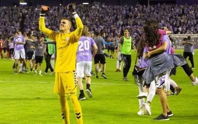 Masip celebrant diumenge al Nuevo Zorrilla el retorn a l'elit | Real Valladolid