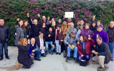 Imatge de la candidatura encapçalada per Ramon Vidal | Cedida