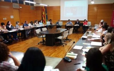 Reunió sobre asil i refugi al Consell Comarcal | Cedida
