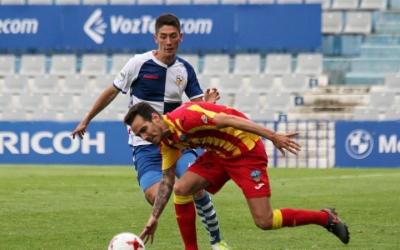 Sergio Montero en una imatge del seu debut contra el Lleida Esportiu | CE Sabadell
