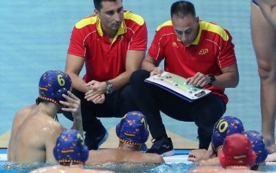 Temps mort de David Martín ahir al partit de quarts contra Austràlia | FINA