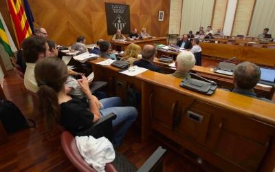 La demanda s'ha aprovat al ple per unanimitat/ Roger Benet