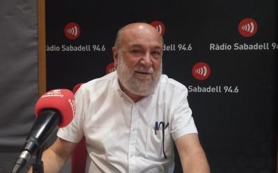 Ramon Ten ha parlat de la trajectòria de la Fundació Bosch i Cardellach/ Ràdio Sabadell