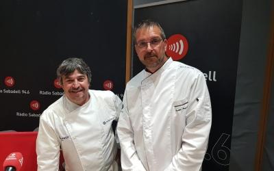 Torruella i Argemí als estudis de Ràdio Sabadell | Raquel García