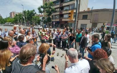 Moment en que s'han col·locat les dues llombardes | Pere Gallifa