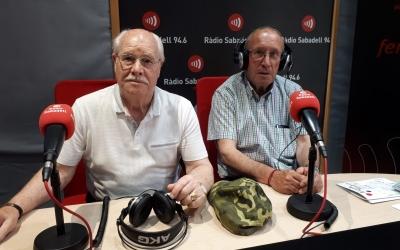 Pedro García i Juan Moreno de l'Associació de Veïns de Can Rull | Raquel García