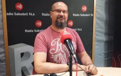 Ricard Hernández, testimoni de la campanya/ Ràdio Sabadell