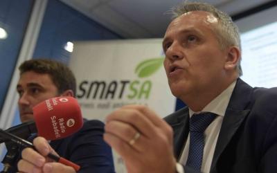 Eugenio Díaz, gerent d'SMATSA, ha anunciat avui els acomiadaments/ Roger Benet