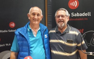 RamónFernández i Antonio Rodríguez de l'AV Sol i Padrís | Raquel Garcia