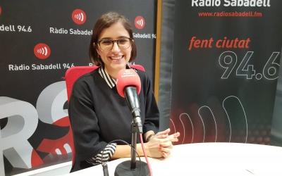 Marina Garcia, psicòloga de l'AECC | Raquel Garcia