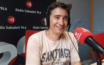 Lluís Perarnau, en una entrevista a Ràdio Sabadell/ Karen Madrid