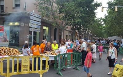 Imatge d'una de les activitats de la festa major de la Creu de Barberà/ Arxiu Ràdio Sabadell