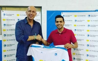 Dani Castro presentat amb la samarreta del CNS