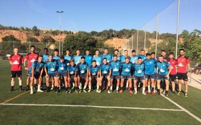 La plantilla del CE Sabadell B 18-19 | Gerard del Cuerpo