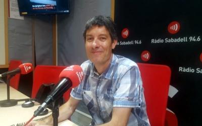 Jordi Molins aquest matí als estudis de Ràdio Sabadell