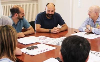 La reunió entre Maties Serracant i Marcel Mauri