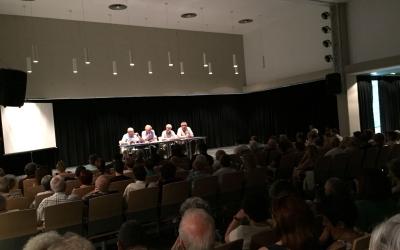 Moment de la presentació del Documental de Torre-Romeu | Ràdio Sabadell