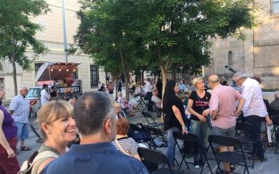 Ciuró durant la festa al Racó del Campanar | Ràdio Sabadell