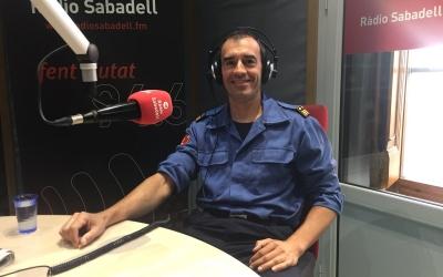 El Subdirector General Operatiu del cos de Bombers de la Generalitat, David Borrell | Aleix Graell