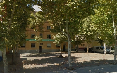Estat actual de la plaça Navacerrada