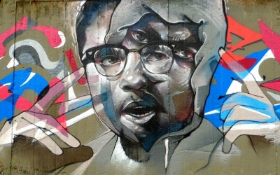 Obra de l'artista Treze a Sabadell   Fundació Contorno Urbano