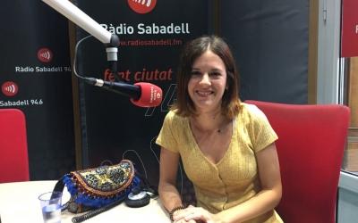 Charlie Pee, als estudis de Ràdio Sabadell | Aleix Graell