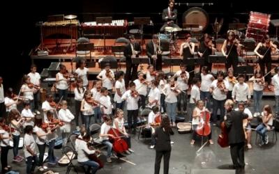 Imatge del concert de cloenda del projecte A-cordant | Ajuntament de Sabadell