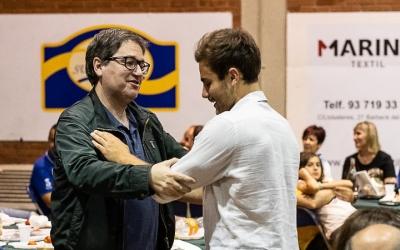 Miquel Benítez i Quim Vaíllo, dos dels protagonistes de la pretemporada de l'OAR Gràcia | Èric Altimis