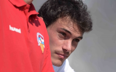 Josu dissabte passat a Olímpia durant el Sabadell-Sant Ildefons | Roger Benet