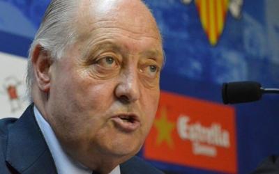 Joan Soteras durant la seva segona etapa com a president arlequinat   Roger Benet
