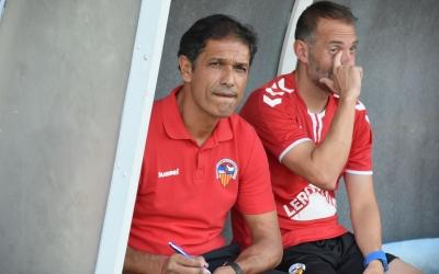 Toni Seligrat a punt pel primer partit de lliga | Crispulo D.
