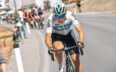 David de la Cruz encara la primera setmana de la Vuelta entre els millors | Team Sky