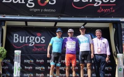 De la Cruz al tercer lloc del podi a Burgos | @VueltaABurgos