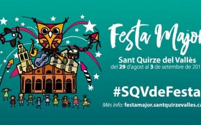 Cartell de la Festa Major de Sant Quirze | Ajuntament de Sant Quirze del Vallès