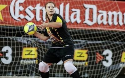 Mariona Solà, portera del Femisport, seguirà un any més a l'equip | @cfsfemisport