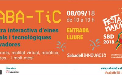 Cartell del Saba-TIC | Ajuntament de Sabadell