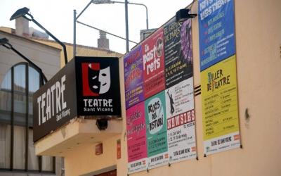 El Teatre Sant Vicenç ja llueix la cartellera de la nova temporada | Roger Benet