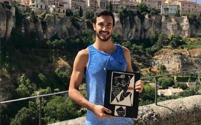 Iker Pajares amb el guardó de subcampió de la Copa d'Espanya | Iker Pajares