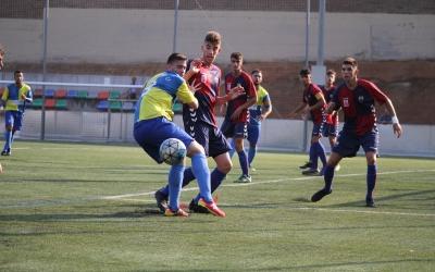 Imatge del Mercantil-Sabadell Nord jugat a principis de mes a Arraona-Merinals | Jesús Arroyo