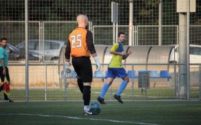 El Sabadell Nord en un dels partits amistosos de pretemporada contra el Mercantil | Jesús Arroyo