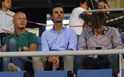 La cúpula esportiva del club, present a la CE Dani Jarque | Críspulo Díaz