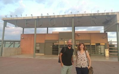 Maties Serracant, alcalde de Sabadell, i Roser Sebastià, membre de la junta nacional d'Òmnium Cultural | Òmnium Cultural