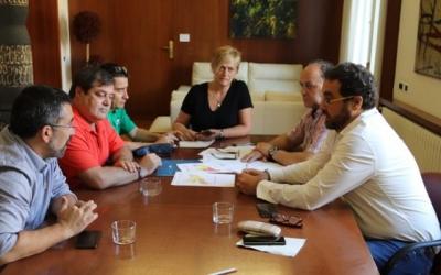 Diversos regidors reunits aquest matí | Ajuntament de Sabadell