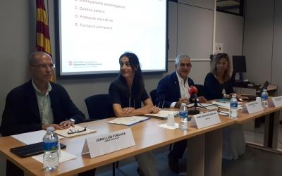 El nou equip de Serveis Territorials ha presentat avui el nou curs/ Karen Madrid