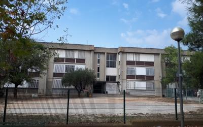Exterior del nou Institut Ca n'Oriac/ Karen Madrid