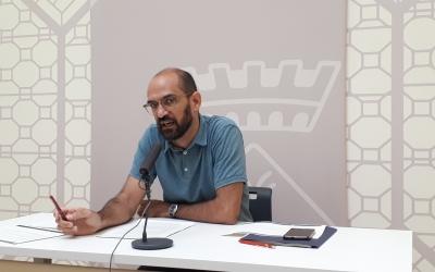 Maties Serracant ha valorat l'ocupació de Gràcia aquest matí/ Karen Madrid