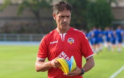 Seligrat, en un entrenament del Sabadell | Roger Benet
